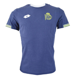 2015-2016 Deportivo La Coruna Lotto Official T-Shirt (Navy)