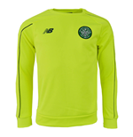 2015-2016 Celtic European Training Sweat (Yellow)