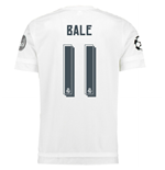 2015-2016 Real Madrid UCL Home Shirt (Bale 11)