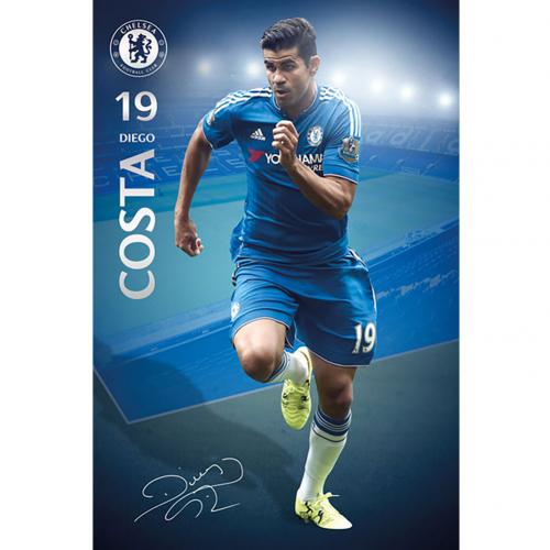 Chelsea F.C. Poster Diego Costa 35
