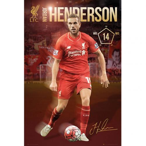 Liverpool F.C. Poster Henderson 45