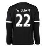 2015-16 Chelsea 3rd Shirt Long Sleeved (Willian 22)