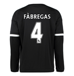 2015-16 Chelsea 3rd Shirt Long Sleeved (Fabregas 4)