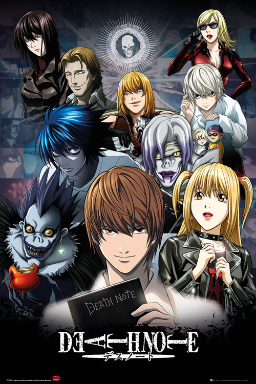 Deathnote Collage Maxi Poster