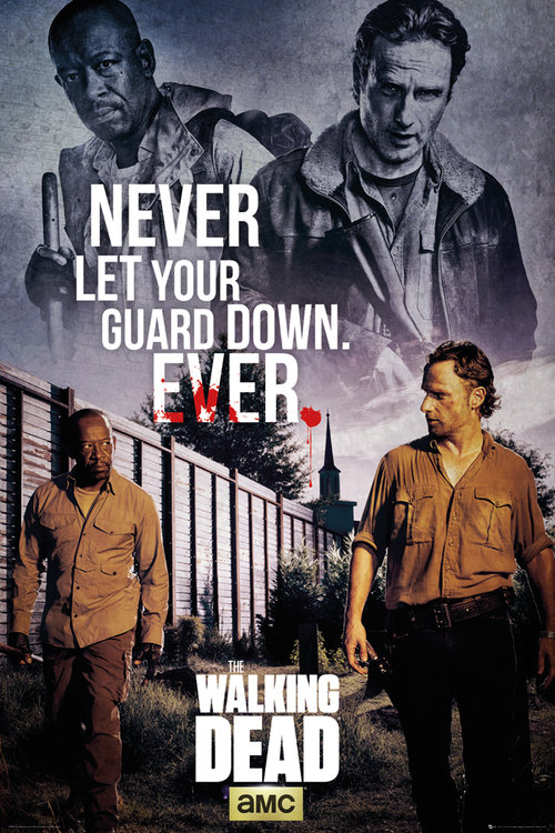 The Walking Dead Rick & Morgan Maxi Poster