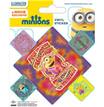 Minions Vinyl Sticker Pack (10) Groovy