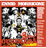 Vynil Ennio Morricone - Queimada (Clear & Orange Mixed Vinyl+Poster)