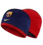 2015-2016 Barcelona Nike Reversible Beanie (Navy-Red)
