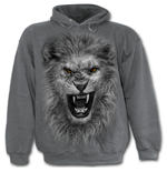 Tribal Lion - Hoody Charcoal