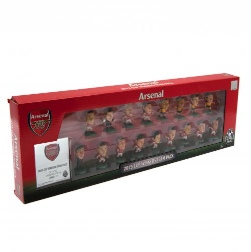 Arsenal F.C. SoccerStarz F.A. Cup Winners Team Pack