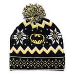 BATMAN Bat Signal Winter Pom Pom Beanie
