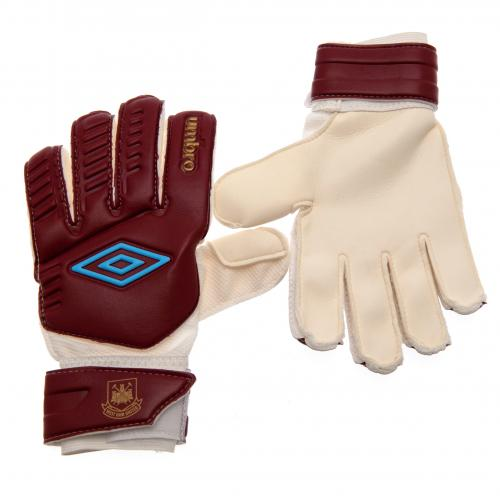 West Ham United F.C. Umbro Goalkeeper Gloves Youths