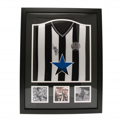Newcastle United F.C. Keegan Signed Shirt (Framed)