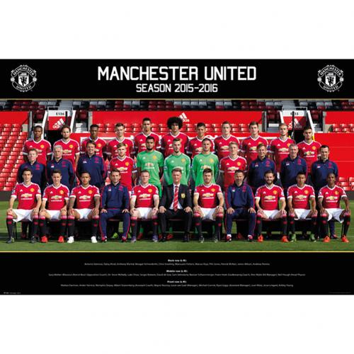 Manchester United F.C. Poster Squad 53