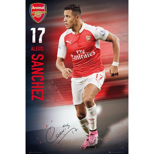 Arsenal F.C. Poster Sanchez 49
