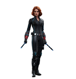 Avengers Age of Ultron Movie Masterpiece Action Figure 1/6 Black Widow 28 cm