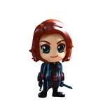 Avengers Age of Ultron Cosbaby (S) Mini Figure Series 2 Black Widow 9 cm