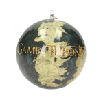 Game of Thrones Ornament World Map & Logo