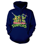 Teenage Mutant Ninja Turtles Hooded Sweater Distressed Group
