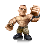 WWE Wrestling Mini Figure John Cena 8 cm