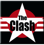 The Clash Magnet - Star Logo