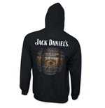 JACK DANIELS Men's Black Barrel Hoodie
