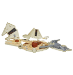 Star Wars Episode VII Micro Machines Playset 2015 Millennium Falcon