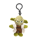 Star Wars Episode VII Plush Keychain Yoda 8 cm