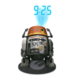 Star Wars Projecting Alarm Clock with Sound Chopper