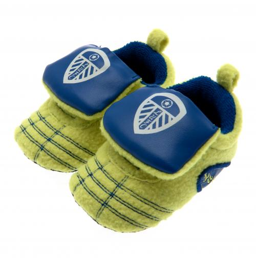Leeds United F.C. Neon Boot Crib 6/9