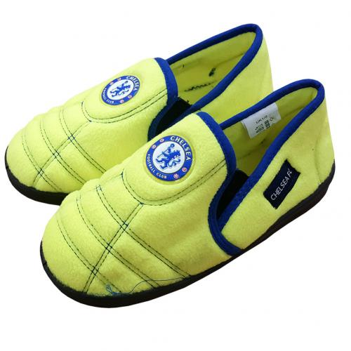 Chelsea F.C. Neon Slippers Junior 12/13