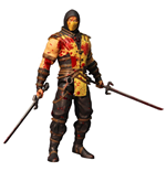 Mortal Kombat X Action Figure Scorpion Bloody Variant Previews Exclusive 15 cm