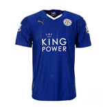 2015-2016 Leicester City Home Football Shirt (Kids)