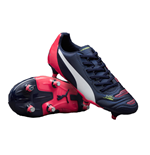 Puma evoPOWER 4.2 Soft Ground Football Boots (Peacot-White) - Kids
