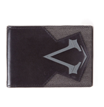 ASSASSIN'S CREED Syndicate Embossed Brotherhood Crest Logo Bi-fold Wallet, One Size, Black/Grey