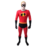 DISNEY Pixar Mr Incredible Adult Unisex Cosplay Costume Morphsuit, Medium, Multi-Colour