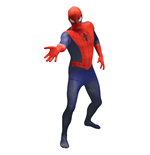 MARVEL COMICS Spider-Man Adult Unisex Basic Cosplay Costume Morphsuit, Large, Multi-Colour