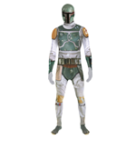 STAR WARS Boba Fett Adult Unisex Zapper Cosplay Costume Digital Morphsuit, Extra Large, Multi-Colour