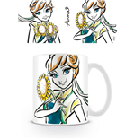 Frozen Mug Anna Illustration