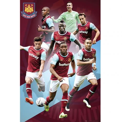 West Ham United F.C. Poster Players 111