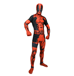 MARVEL COMICS Deadpool Adult Unisex Cosplay Costume Morphsuit, Extra Large, Multi-Colour