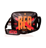 STAR WARS VII The Force Awakens Resistance 'Red Squad' X-Wing Starfighters Messenger Bag, Black