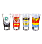 Justice League Glassware 180507
