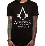Assassin's Creed Syndicate T-Shirt Logo Black
