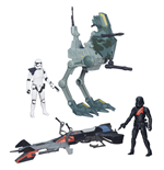 Star Wars Episode VII Class I Vehicles with Figures 2015 Wave 1 Assortment (4)
