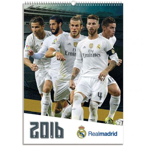 Real Madrid F.C Calendar 2016