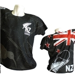 All Blacks T-shirt Kiwi