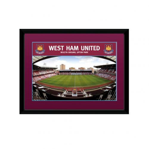 West Ham United F.C. Picture Boleyn Ground 8 x 6