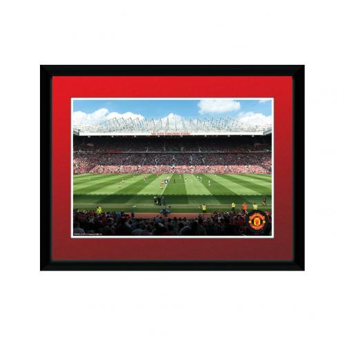 Manchester United F.C. Picture Old Trafford 8 x 6 RD
