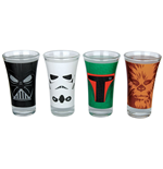 Star Wars 4 Glasses